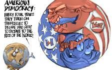 CARTOON: Trump v Hillary: Who Took Debate?