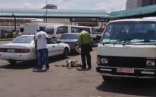 Three people were killed at a taxi rank in central JHB on 20 November 2012. Picture: Govan Whittles/EWN.