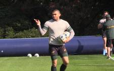 Springbok wing Bryan Habana during training at Pennyhill Park outside of London. Picture: Vumani Mkhize/EWN.