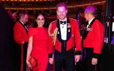 The Duke and Duchess of Sussex joined veterans, serving members, musicians, composers and conductors of the Massed Bands of Her Majesty's Royal Marines for the annual Mountbatten Festival of Music on 7 March 2020. Picture: Instagram/sussexroyal