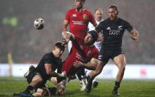 The British and Irish Lions beat the Maori All Blacks a record 32-10 win at Rotorua International Stadium on Saturday. Picture: Twitter @AllBlacks.