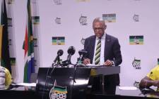 FILE: ANC's Pule Mabe on 29 May 2018. Picture: @MYANC/Twitter.