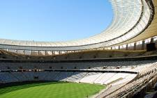An inner view of the tremendous Cape Town Stadium. Picture: Tauri Maduna