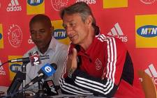 Ajax Cape Town coach Muhsin Ertuğral. Picture: Alicia Pillay/EWN