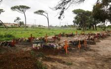 As the Covid19 peak approaches, the City of Cape Town is making more burial space available. EWN visited Maitland Cemetery where a section has been demarcated for COVID-19 deaths. Picture: Kaylynn Palm/EWN