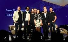Anthony Maras, Dev Patel, Tilda Cobham-Hervey, John Collee, Nazanin Boniadi, Anupam Kher, Armie Hammer and Jason Isaacs attend 'Hotel Mumbai press conference during the 2018 Toronto International Film Festival at TIFF Bell Lightbox on 8 September 2018 in Toronto. Picture: AFP.