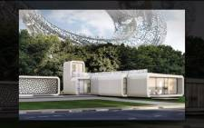 A YouTube screengrab of the plans of world's first fully functional 3D printed building in Dubai as revealed last year.