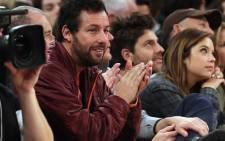 FILE: Not much to celebrate for Adam Sandler after his latest movie opens poorly at the US Box Office. Picture: AFP