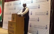 FILE: Gauteng Premier David Makhura. Picture: Dineo Bendile/EWN.