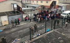 Despite the deployment of SANDF to gang-hit areas of Cape Town, a 16-year-old girl was wounded in what's believed to be a gang-related incident. Picture: Kaylynn Palm/EWN.