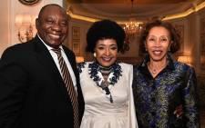 Cyril Ramaphosa, Winnie Madikizela-Mandela, Tshepo Motsepe.