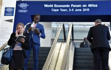 Delegates arriving at the World Economic Forum on Africa in Cape Town. Picture: GCIS.