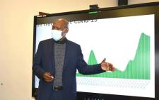 Health Minister Zweli Mkhize visited the Northern Cape to assess the province's COVID-19 vaccine rollout on 8 June 2021. Picture: Northern Cape Department of Health.