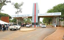 The main entrance to the University of Venda. Picture: University of Venda Facebook page