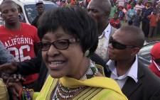 ANC stalwart Winnie-Madikizela Mandela. Picture: Reinart Toerien/EWN
