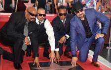 Hip-hop group Cypress Hill on the Hollywood Walk of Fame. Picture: @DJ_Muggs/Twitter