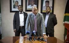 FILE: Johannesburg Mayor Herman Mashaba addresses the media. Picture: Reinart Toerien/EWN