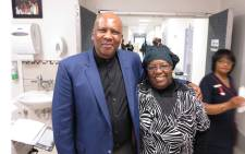 King of Lesotho, King Letsie III, was at Tutu's bedside this morning. Picture: Supplied.
