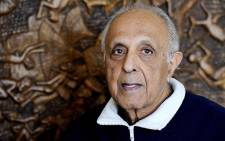 FILE: The late Ahmed Kathrada. Picture: AFP