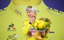 Tadej Pogacar won the 17th stage of the Tour de France on 14 July 2021. Picture: @LeTour/Twitter