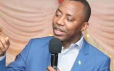 Nigerian activist and former presidential candidate Omoyele Sowore. Picture: OSowore/Facebook