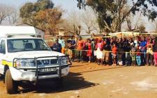 FILE. Residents of Protea in Soweto took the law into their hands as they beat a man to death accusing him of stealing a grass cutter. Picture: Dineo Bendile/EWN.