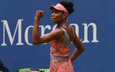FILE: Venus Williams a win at the US Open tennis tournament. Picture: @usopen/Twitter