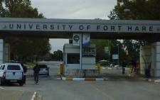 FILE: Entrance to the University of Fort Hare. Picture: @SAgovnews/Twitter.