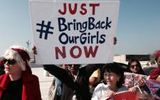 FILE: Hundreds of people took the the street in Sandton, Johannesburg demanding the immediate release of over 200 girls in Nigeria on 8 May 2014. Picture: EWN.