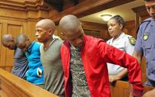 Four men were sentenced in the Western Cape High Court on 13 February 2017 for the murder of Bongiwe Ninini. Picture: SAPS.