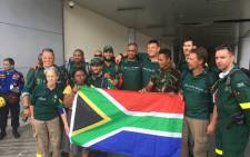 Members of Gift of the Givers South Africa arrived in Indonesia following a deadly earthquake and tsunami. Picture: Ziyanda Ngcobo/EWN