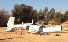 FILE: A light aircraft crashed near the R44 outside Stellenbosch on Thursday afternoon.