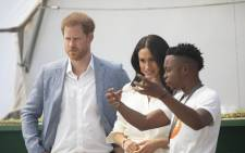 The Duke and Duchess of Sussex met with young entrepreneurs and staff at the Youth Employment Service in Tembisa on 2 October 2019. Pictures: Kayleen Morgan/EWN.