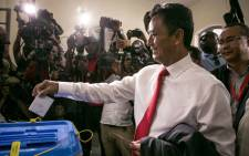 FILE: Madagascar presidential candidate Marc Ravalomanana casts his ballot at the polling station in Faravohitra district during the 2nd round of the presidential election, in Antananarivo, on 19 December 2018. Picture: AFP