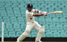 India batsman Ajinkya Rahane plays a shot. Picture: AFP
