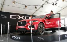FILE: The Jaguar C-X17 concept car. Picture: Sebabatso Mosamo/EWN