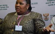 FILE: Defence and Military Veterans Minister Nosiviwe Mapisa-Nqakula. Picture: EWN