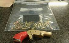 A 44-year-old suspect has been arrested in Manenberg during a search for possession of unlicensed firearm and ammunition. Picture: Twitter @SAPoliceService.