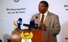 FILE: Rural Development and Land Reform Minister Gugile Nkwinti. Picture: EWN.