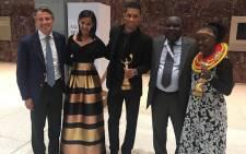 South African gold-medalist Wayde van Niekerk was named male athlete of the Olympic Games. Picture: @WaydeDreamer