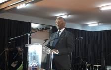 Former president Thabo Mbeki addressed mourners at Thandi Klaasen's funeral on 27 January 2017.  Picture: Katleho Sekhoto