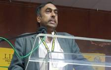 FILE: Former Health Department deputy Director-General Anban Pillay. Picture: @LimpopoDepartmentOfHealthBophelong/Facebook