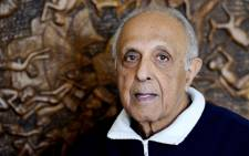 Ahmed Kathrada. Picture: AFP.