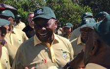 ANC president Cyril Ramaphosa at the party's golf day in East London on 12 January 2018. Picture: EWN