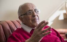 FILE: Former political prisoner and anti-apartheid activist Ahmed Kathrada. Picture: Reinart Toerien/EWN.