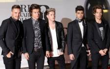 One Direction became the only group to score four consecutive No. 1 debuts on the US Billboard 200 album chart. Picture: AFP.