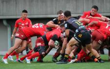 FILE: The Sunwolves in action against the Chiefs during their Super Rugby match on 15 February 2020. Picture: @sunwolves/Twitter