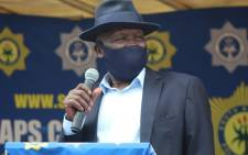 FILE: Police Minister Bheki Cele. Picture: @SAPoliceService/Twitter.