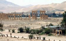 A handout picture released by the official Syrian Arab News Agency on May 17, 2015, shows the ancient oasis city of Palmyra, 215 km northeast of Damascus.Picture: AFP/HO/SANA.