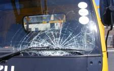 A council truck was stoned in Langa during a taxi strike in Cape Town in February. Picture: Janine Willemans/Eyewitness News